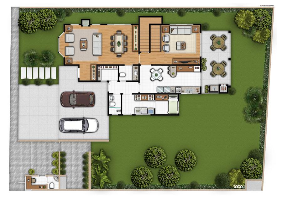 Casa 01 - Planta A