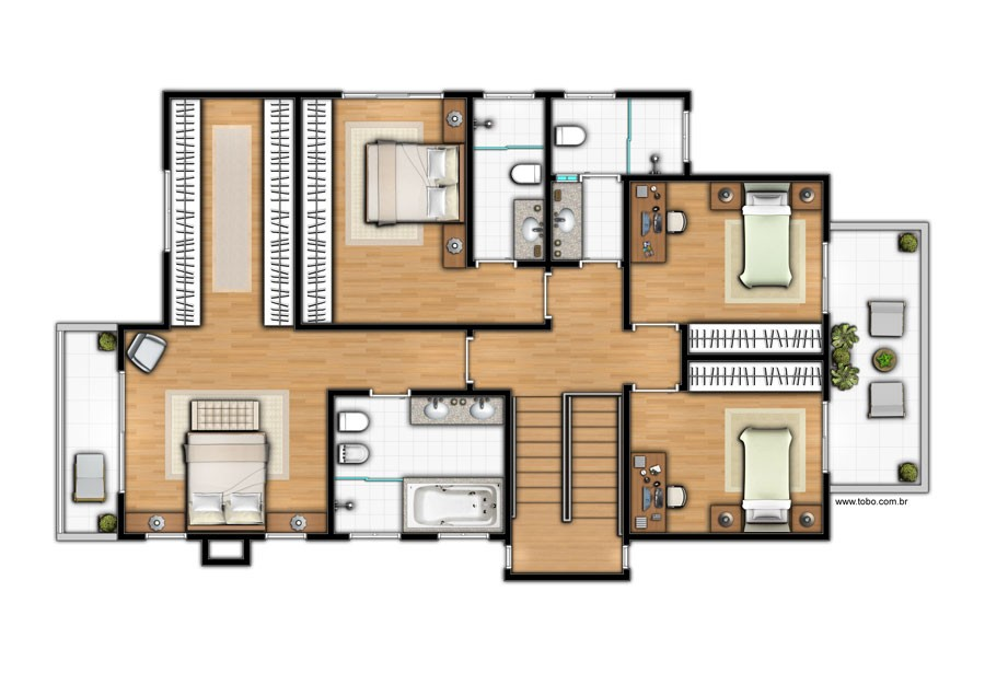 Casa 02 - Planta B