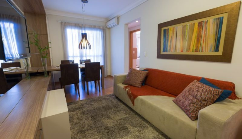 Living Apto Residencial Villa Frascatti - Foto 15
