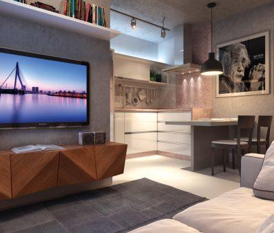 living-kitcehnette-residencial-vivance
